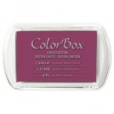 ColorBox Fluid Chalk Ink Pad - Black Cherry